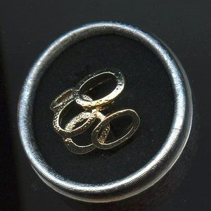 Ring, Engagement/Promise, , Five Ovals,Size 10